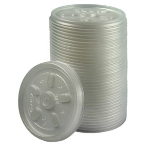 INSULATED CUP LID 7OZ PK100