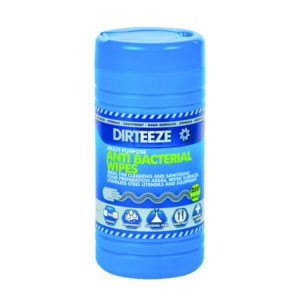 DIRTEEZE QUAT-FREE SANIT WIPE Pk250