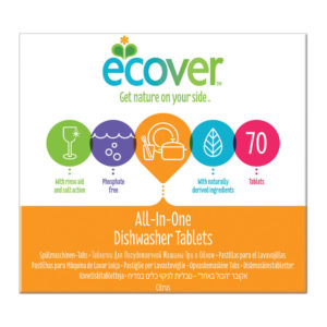 ECOVER DISHWASH TABLETS ALL IN ONE XL