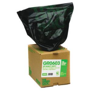 GREEN SACK CUBES BLK RUBBLE PK30