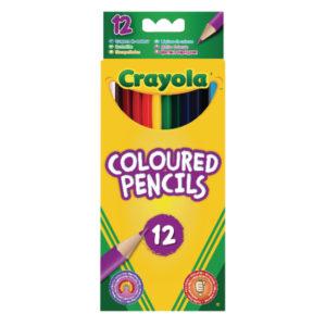 CRAYOLA 12 TWISTABLE CRAYONS PK6