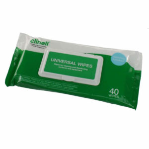 Clinell Universal Sanitising Wipes x 40
