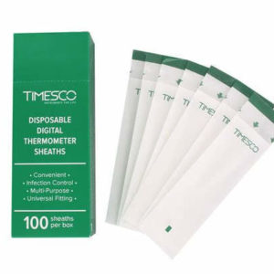 Digital Thermometer sheath Covers, Box 100