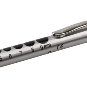 Deluxe Stainless Steel Reusable Pen Torch