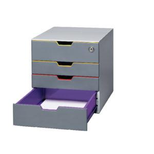 DURABLE VARICOLOR 4 DRAWER BOX