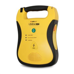 Lifeline AED Semi-Automatic Defibrillator With Standard Capacity