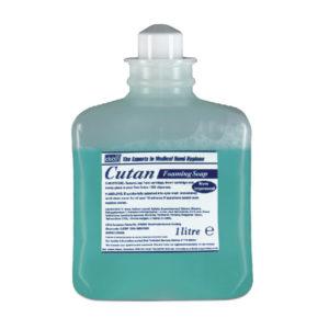 DEB CUTAN FOAMING SOAP 1L CART