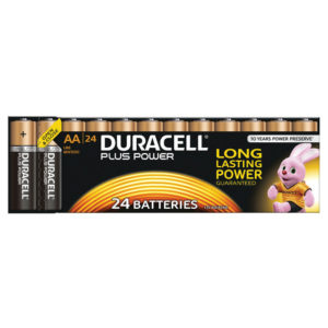 DURACELL AA PLUS 24 PACK COPPER/BLACK