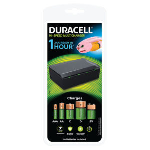 DURACELL MULTI CHARGER BLACK 75044676