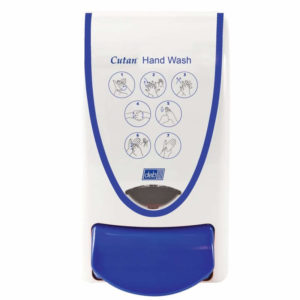Deb Cutan Hand Wash Wall Dispenser (Blue)