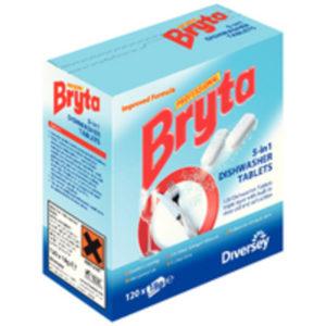 BRYTA 5 IN 1 DISHWASHER TABS 4X120PC
