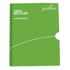 GRAFFICO RECYCLED CASEBOUND BOOK A4