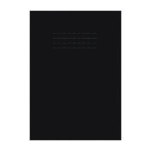 EDUCATION A4 STRETCH BOOK BLACK PK2 X 25