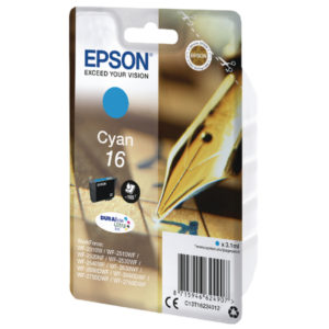 EPSON 16 CYAN INKJET CARTRIDGE