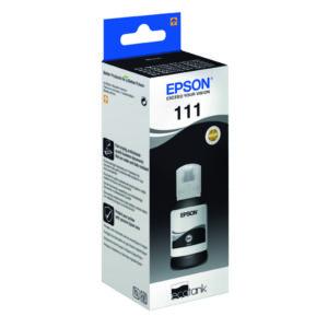 EPSON 111 ECOTANK INK BOTTLE BLACK
