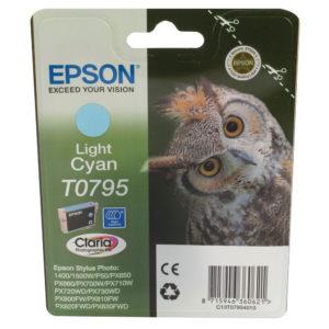 EPSON 1400 INKJET CART LT CYN C13T079540