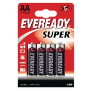 EVEREADY SUPER AA PK4 R6B4UP