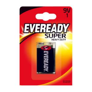 EVEREADY SUPER BATTERY 6F22BIUP 9V