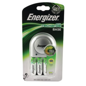ENERGIZER BASE BATT CHARGER 4XAA 1300MAH