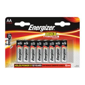 ENERGIZER MAX E92 AA BATTERY PK 12