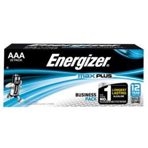 ENERGIZER MAX PLUS AAA BATTERIES PK20