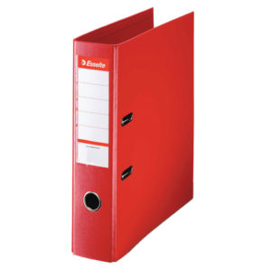 ESSELTE A4 PVC LEVER ARCH 75MM RED