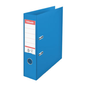 ESSELTE A4 PVC LEVER ARCH 75MM BLUE