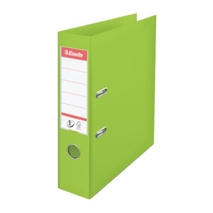 ESSELTE A4 PVC LEVER ARCH 75MM GREEN