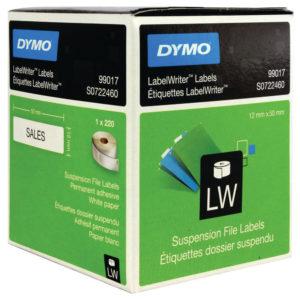 DYMO SUSP FILE LABEL 50X12 PK220 99017