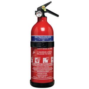 FIREMASTER 1KG ABC POWDER FIRE EXTING