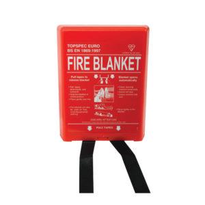 FIRE BLANKET FIBREGLASS 100X100CM FB110