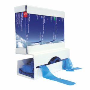 Glove & Apron Dispenser- White