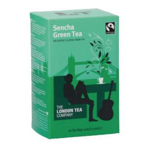 LONDON TEA COMPANY SENCHA GREEN TEA PK20