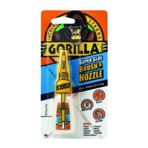 GORILLA SUPER GLUE BRUSH/NOZZLE 10G