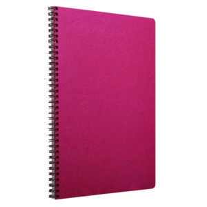 CLAIREFONTAINE NOTEBOOK A4 RED PK5