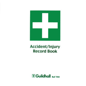 GUILDHALL ACCIDENT INJURY BOOK T44