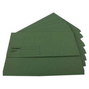 GUILDHALL DOC WALLET ANGEL GREEN