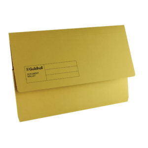 GUILDHALL DOC WALLET BLUE ANGEL YELLOW