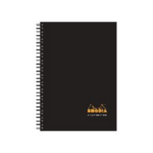 RHODIA BUSINESS BOOK A5 WBND HB NBK BLK
