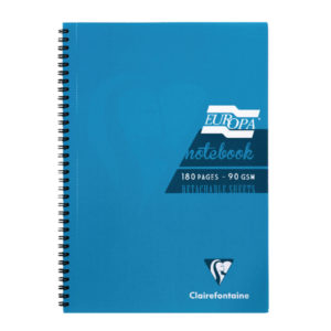 EUROPA A4 NOTEBOOK TURQUOISE 5802Z