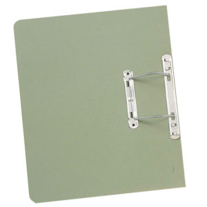 GUILDHALL TRANSFER SPRING FILE GREEN
