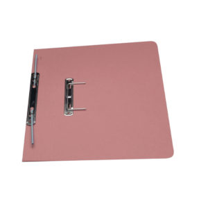 GUILDHALL TRANSFER SPRING FILE PINK 348