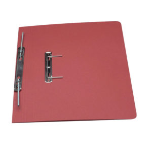 GUILDHALL TRANSFER SPRING FILE RED 348
