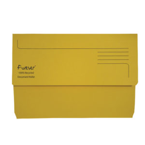 FOREVER BRIGHT MANILLA WALLET YELLOLOW