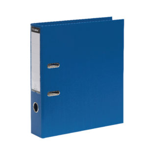 GUILDHALL LARCH FILE A4 80MM BLUE