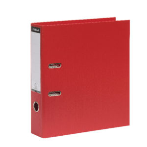GUILDHALL LARCH FILE A4 80MM RED