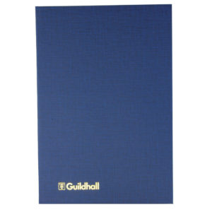 GUILDHALL ANALYSIS BOOK 80PP 31/4