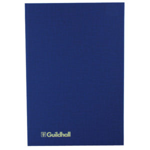 GUILDHALL ANALYSIS BOOK 80PP 31/6