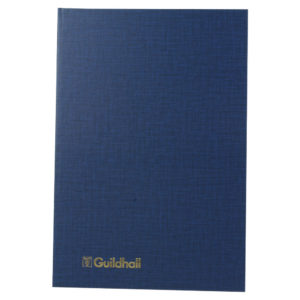 GUILDHALL ANALYSIS BOOK 80PP 31/7