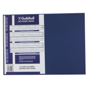 GUILDHALL ACCOUNT BOOK 80PG 61/32